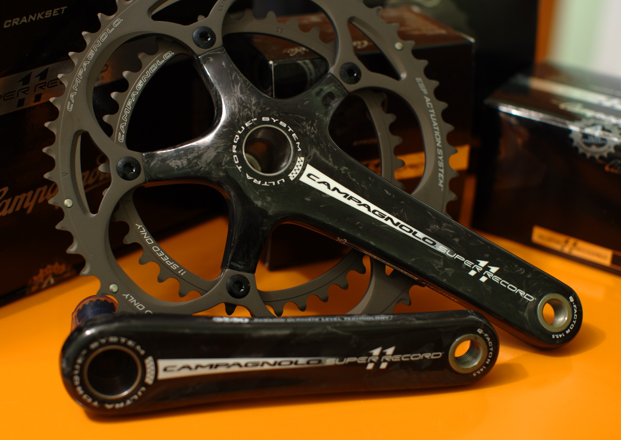 Campagnolo Super Record Cranks