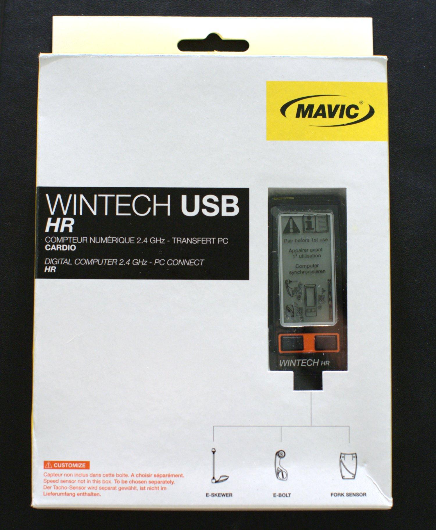 Mavic Wintech Computer HR